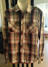 BUFFALO DAVID BITTON mens LONG SLEEVE PLAID SHIRT NWOT SIZE MEDIUM