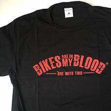 Speed & Strength Bikes Are In My Blood T-Shirt Tee Black Motorcycle MX SX Jersey