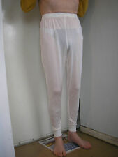 Pure Knitted Silk men's thermal Long Johns £18.95