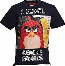 Angry Birds I HAVE ANGER ISSUES T-Shirt Angry Bird T Shirt Kids Youth Tee
