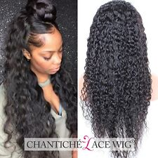 """Hot Human Hair Curly Wigs For Black Women Indian Remy Full Lace Front Wig 10-22"""""""