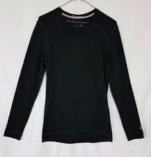 NEW SmartWool Women's NTS Mid 250 Black Crew base layer NWT