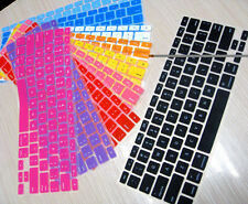 "Silicone Keyboard Protector Cover For MacBook Pro 13 15 17 Inch,Air 13""(EU/UK)"