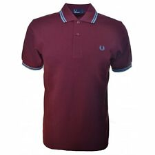 Fred Perry Men's Twin Tipped Polo Shirt  Short Sleeved Top Genuine M1200-785