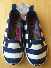 NWT DISNEY STORE TINKER BELL FAIRIES SHOES SNEAKERS GIRLS 9,11,12,13,1