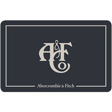 Abercrombie & Fitch Gift Card - $25 $50 or $100 - Fast Email delivery