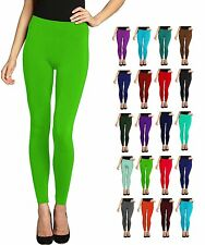 Lush Moda Seamless Full Length Basic Leggings - Variety of Colors