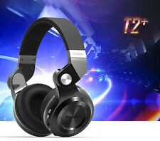 BLUEDIO T2+ Wireless Bluetooth 4.1 Over-ear Stereo Headphone Headset with Mic