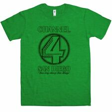 Inspired By Anchorman T Shirt - Channel 4 San Diego - 8Ball Tees