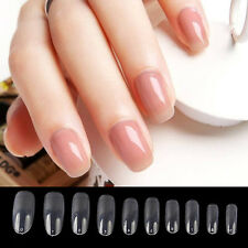 500pcs Nails Acrylic French Nail Making False Nail Art Tips Acrylic Manicure Tip