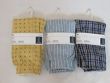 LOT OF 3 NEW WITH TAGS PAIRS OF MEN'S GAP BOXER SHORTS, SIZE MEDIUM