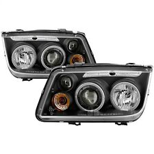 Spyder Auto 5012258 Halo LED Projector Headlights Fits 99-05 Jetta