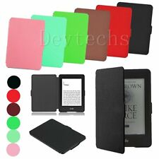 Ultra Slim Smart Magnetic Stand Leather Case Cover For Amazon Kindle Paperwhite