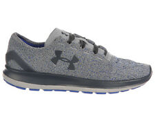 NEW MENS UNDER ARMOUR SLINGRIDE RUNNING SHOES TRAINERS OVERCAST GREY / GLACIER