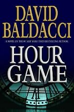 Hour Game by David Baldacci (2004, Hardcover) SIGNED 1st/1st