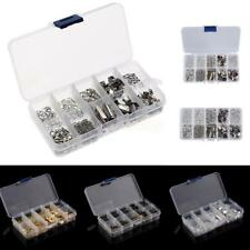 1 Box Jewelry Findings Kit Box Set Lobster Clasps Jump Rings DIY Jewelry Making