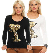 Sublevel Women's shirt Snoopy Long-sleeved T-shirt long sleeve T-shirt BF 00639