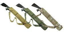 Tactical Shotgun Scabbard ambidextrous shoulder strap 6 Colors Padded Molle Army