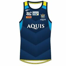 Gold Coast Titans 2017 NRL Mens Training Footy Singlet BNWT Rugby Clothing Navy