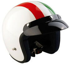 Viper RS-04 Open Face Motorbike Motorcycle Helmet Scooter Italy MOD Touring