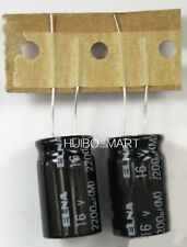 ELNA 2200UF 16V AUDIO Grade Electrolytic Capacitors 4 pcs/ 10 pcs/20pcs