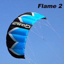 2m² Quad Line Traction Kite Powerkite Trainer Kite for Beginner Landboard Sports