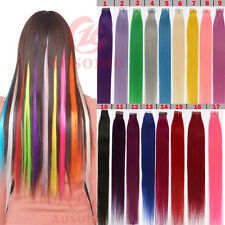 Seamless 20pcs/lot PU Skin Weft Tape in 100% Remy Human Hair Extensions Colorful