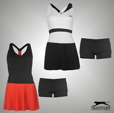 New Ladies Slazenger Sport Baseline Racer Back Sleeveless Tennis Dress Size 8-14