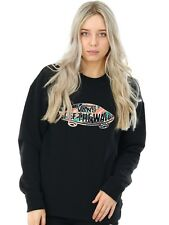 Vans Black Tropic Off The Wall Womens Sweater