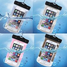 Waterproof Underwater Pouch Dry Wrist Strap Bag Case For iPhone 5 6 7 Samsung S7