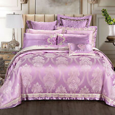 800TC Doona Duvet Quilt Cover Set King Queen Size Bed Pillow cases Sheet Set New