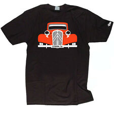 CUSTOM HTees T-shirt - CITROEN TRACTION AVANT TA, Choose car color & plate S-3XL