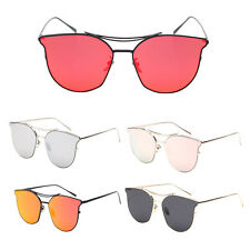 Cat eye sunglasses Fashion individuality eyeglasses Metal Frame Sunglasses UV400