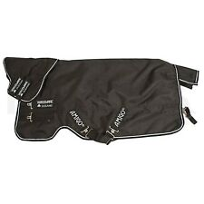 "Horseware Amigo Bravo 12 Plus Heavy Turnout Rug Black & White - 5'6"" to 6'9"""