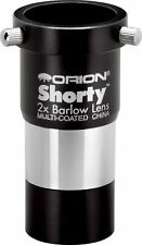 Brand New Orion 08711 Shorty 1.25-Inch 2x Barlow Lens (Black)