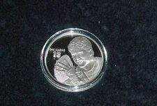 DAN MARINO MIAMI DOLPHINS .999 SILVER COIN 1.5 OZT HIGHLAND MINT ROUND 374/2500