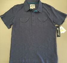 NWT SEVEN 7 For All Mankind Mens Patch Pocket Polo Shirt Small Medium