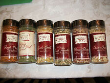 Tastefully Simple Seasoning Garlic Bacon Pesto Fiesta Salt Bacon Onion & more