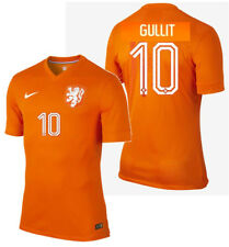 NIKE RUUD GULLIT NETHERLANDS AUTHENTIC HOME JERSEY WORLD CUP BRAZIL 2014 HOLLAND