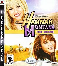 Hannah Montana: The Movie (Sony PlayStation 3, 2009) PS3 Video Game