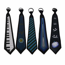 Glow Neck Tie Light Up LED El Panel Novelty Necktie Men Party Sound Activated AE