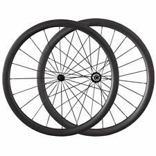 700C Only 1220g 38mm Clincher Tubular Bicycle Carbon Wheels Road Bike Wheelset