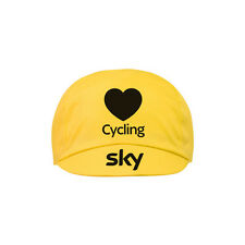 Rapha Team Sky IV Tour de France 2016 Victory Cycling Cap Yellow  BNWT  * RARE *