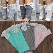 Cute Toddler Baby Boys Girls Leggings Socks Kids Leg Warmers Knee Pad Legs Boots