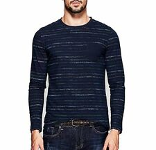 S  M L XL XXL 3XL Mens 100% Cotton Slim Fitted Found Neck Long Sleeve   T-shirt