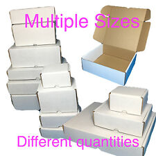 Packing Boxes Cardboard (Multiple sizes) Mailing HIGH QUALITY White Wholesale