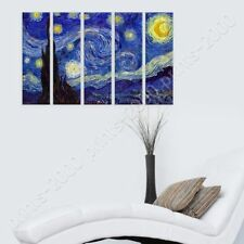 Alonline Art - POSTER Or STICKER Decals Vinyl Starry Night Vincent Van Gogh