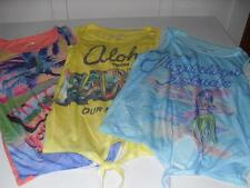 New Junior's Aeropostale Tank Tops - Coral, Yellow, Blue - Sizes S, M, L - NWT