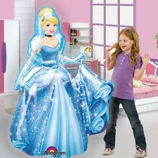 Princess Cinderella Airwalker Birthday Balloons, Cinderella Party Balloons