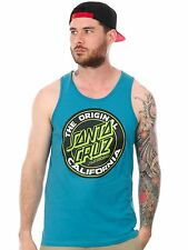 Santa Cruz Blue Cali Dot Colour Tank Top